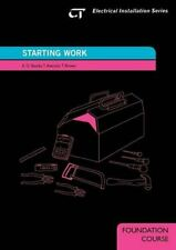 Starting Work: Electrical Installation Series: Foun... by Brown, Terry Paperback