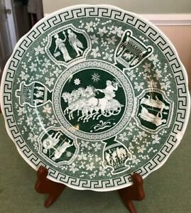 GREEN Spode Greek, Archive Collection