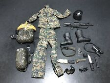 """1/6 Military 12"""" Uniform Clothing Accessories Lot For GI Joe Or Other Fig 052"""
