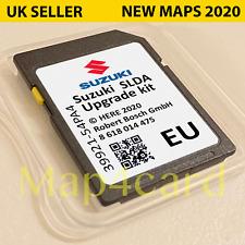 2020 SUZUKI SLDA BOSCH NAVIGATION SD CARD MAP EUROPE SX4 S-CROSS, VITARA, SWIFT