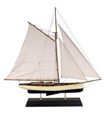 G429: Großes Modell Segelschiff einer klassischen Yacht der 30er Jahre