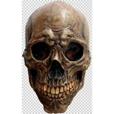 Skull Ancient Look Full Head Latex Mask Fancy Dress Halloween