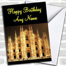 MILANO Italia Compleanno Biglietto Personalizzato