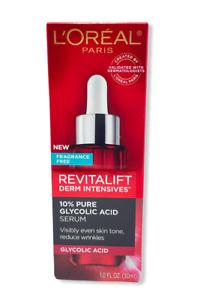 L'Oreal Revitalift Derm Intensives 10% Pure Glycolic Acid Serum 1.0fl.oz/30ml