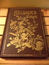 AntiqueGuidedBook Lord Edw.Bulwer Lyttons Dramatic Works Vol.9 Published 1892