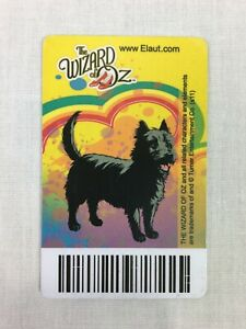 The Wizard Of Oz : Toto - Rare Elaut Coin Pusher Card - Timezone