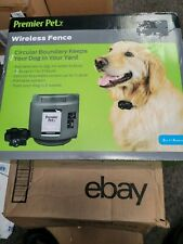 PREMIER PET WIRELESS FENCE Complete System  GIF00-16917  Same Day Free Shipping!