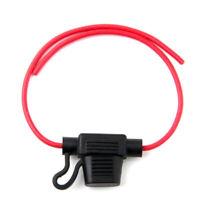 1* 16AWG Wire In-line Car Automotive Blade Fuse Holder Fuseholder 20A 32V Pro