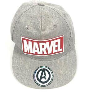 Marvel Super Heroes Strapback Adjustable Baseball Cap Hat Visor Print NWOT