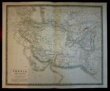 Persia Iran Beloochistan Cabool Cabul Afghanistan 1842 Johnston map