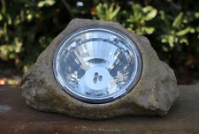 8 Large Outdoor Garden 3-LED Solar Decorative Rock Stone Spot Lights Lamp - R10