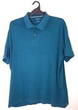 VAN HEUSON Mens Polo Green Shirt size XL 100% Cotton Casual Fashion