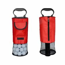 Golf Shag Bag Ball Pick Up Large Hold 70 Balls Portable Pack Finger Ten US