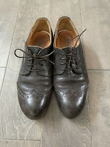 Women's Moma wing tip lace-up shoes size 41