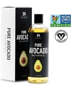 Best Avocado Oil for Skin & Hair Treatments, Aromatherapy, Massage - SR Naturals
