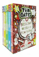 New Tom Gates Series Collection 5 Books BY Liz Pichon The Brilliant World