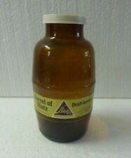Vintage Barrel of Blatz Salt Shaker Glass Bottle  S-10