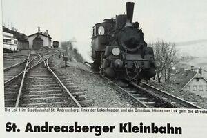 Die ST. ANDREASBERGER KLEINBAHN, die Streckengeschichte, in Wort, Bild und mehr