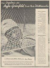 J1486 AGFA Grunfeld - Pubblicità grande formato - 1929 Old advertising