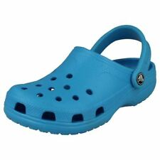 Sandali e scarpe casual blu Crocs per il mare da uomo
