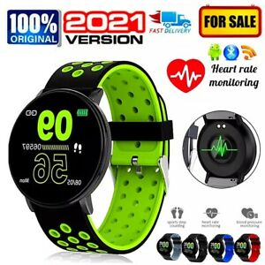 2021 Bluetooth Smart Watch Phone Mate For Android Samsung Universal* Heart Rate