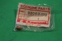 NOS KAWASAKI KAF450 EX250 ZX600 ZG1200 MAIN JET #102 PART# 92063-1115