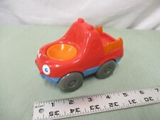 Hasbro Playskool People Weebles part Treehouse pickup truck red blue orange