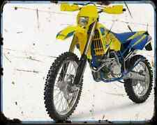Husaberg Fe 450 07 A4 Photo Print Motorbike Vintage Aged