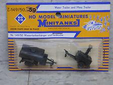 Roco / Herpa Minitanks (NEW) WWII US M-149 & M 58 Water & Mess Trailer Lot #1107