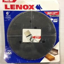 """LENOX Tools Bi-Metal Speed Slot Hole Saw with T3 Technology, 6"""""""