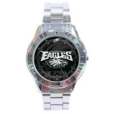 Philadelphia Eagles NFL Stainless Steel Analogue Men's Watch Gift