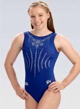 USA Leotard GK ELITE Gymnastics FOREVER Sequin Bling NATIONAL TEAM REPLICA Sz CM
