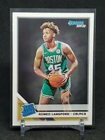 2019-20 Donruss Romeo Langford RC, Rated Rookie Card, Boston Celtics