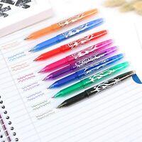 8PCS Erasable Rollerball Pen Heat Friction 0.5mm Tip Gel Ink Pens