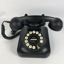 "Vintage Antique Black ""GRAND PHONE"" Telephone Flash Redial"