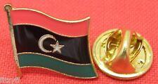 New Libya Flag Lapel Hat Cap Tie Pin Badge Tripoli Gift Souvenir State of Libya