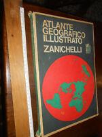 LIBRO: ATLANTE GEOGRAFICO ILLUSTRATO ZANICHELLI ed. 1968 Zanichelli
