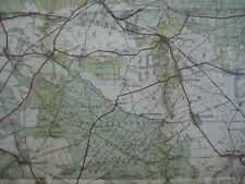 Landkarte Berlin Blatt 1 Nauen 1932 Landesaufnahme Kremmen Marwitz Schönwalde