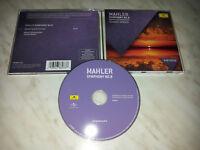 CD MAHLER - SYMPHONY NO. 9 - ABBADO - NUOVO NEW