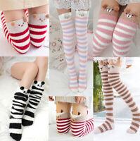 Amazing Novelty Over Knee Fluffy Animal Socks Warm Soft Cosy Gift Bed Socks Xmas