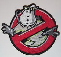 "Ghostbusters NO GHOST With Proton Pack Embroidered Uniform Logo 4"" Patch"