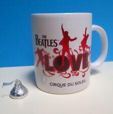 "THE BEATLES ""LOVE"" ~ CIRQUE DU SOLEIL ~ WHITE COFFEE MUG ~ BTLOVEMUG04 ~ RARE"