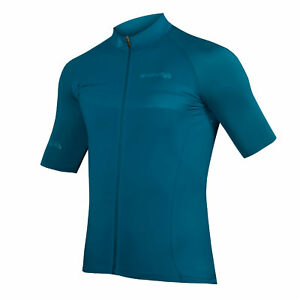 🎁🎄Endura Mens Pro SL Jersey Short Sleeve Kingfisher Green Size S New with Tag