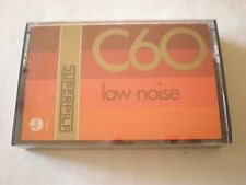 SUPERPILA C 60 NEW SEALED Vintage Blank Cassette Audio Tape NUOVA Made in Italy