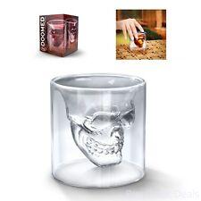 Fred And Friends Doomed Crystal Skull Shotglass Set 4