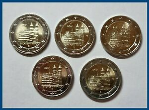 2 Euro Münze Deutschland 2021 ° Magdeburger Dom ° je A-D-F-G-J Ro 182