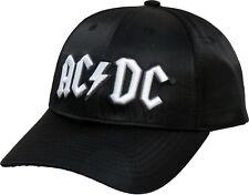 AC/DC Back In Black Baseball Cap