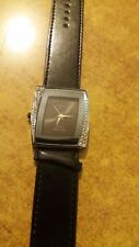 orologio donna jay baxter bracciale in pelle strass b208