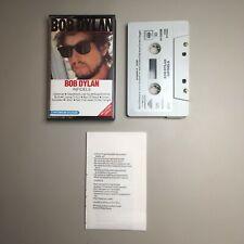 Bob Dylan - Infidels - rare Cassette Tape with insert