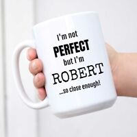 Personalized Name Mug Coffee Cup Novelty Gift for Robert